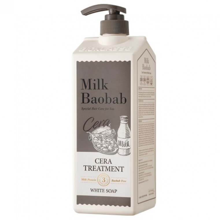 MILK BAOBAB Treatment White Soap Бальзам для волос с ароматом белого мыла