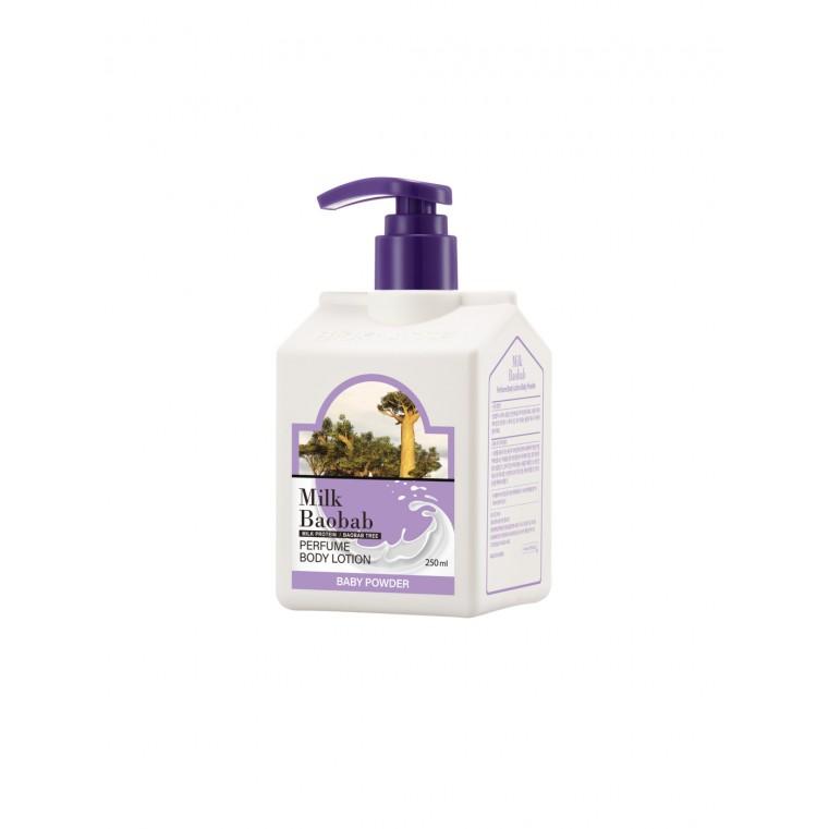 MILK BAOBAB Body Lotion Baby Powder Лосьон для тела с ароматом детской присыпки, 250 мл