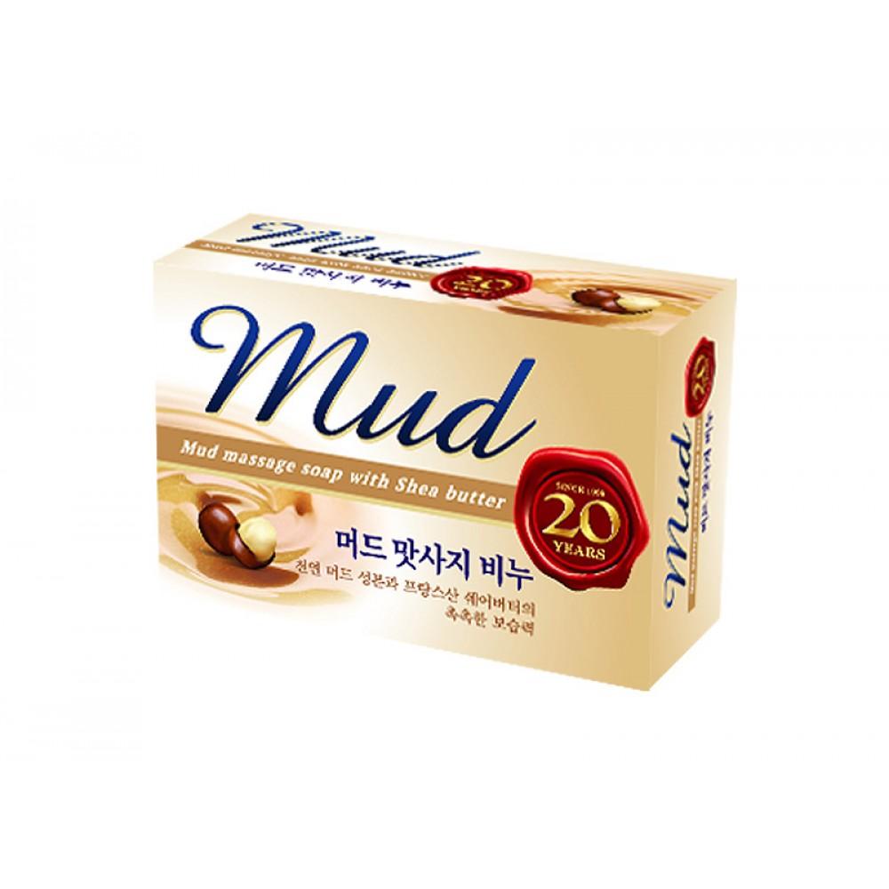 Mud Massage Soap Массажное мыло с маслом Ши