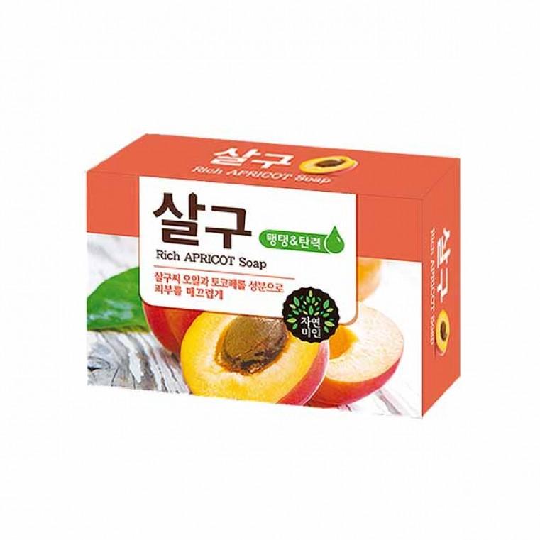 Mugunghwa Rich Apricot Soap Мыло абрикосовое