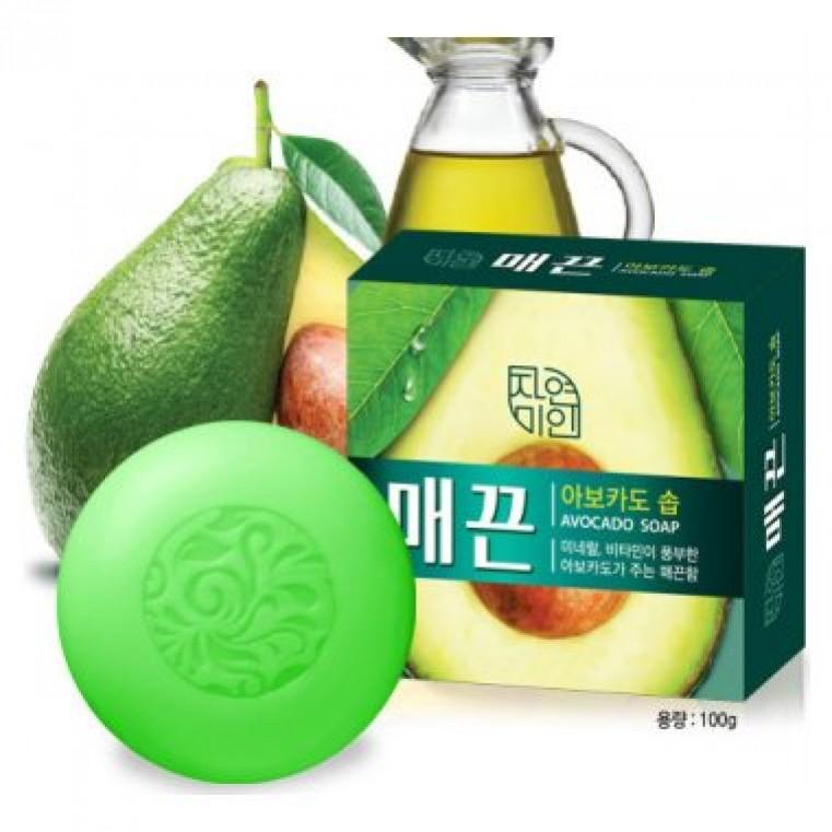 Mugunghwa Avocado Soap Мыло туалетное твердое с маслом авокадо