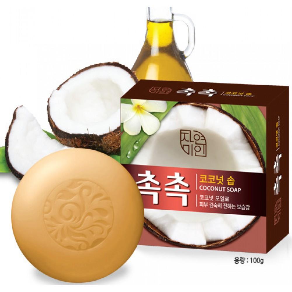 Mugunghwa Coconut soap Мыло туалетное твердое с кокосовым маслом