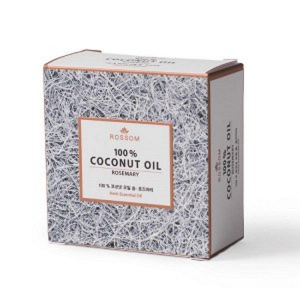Mugunghwa Pure coconut oil ROSEMARY soup Мыло из 100% масла кокоса с экстрактом розмарина и травяными эфирными маслами