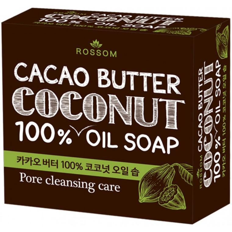 Mugunghwa Cacao butter coconut pure oil soap Мыло туалетное твердое из 100% масла кокоса с добавлением какао масла