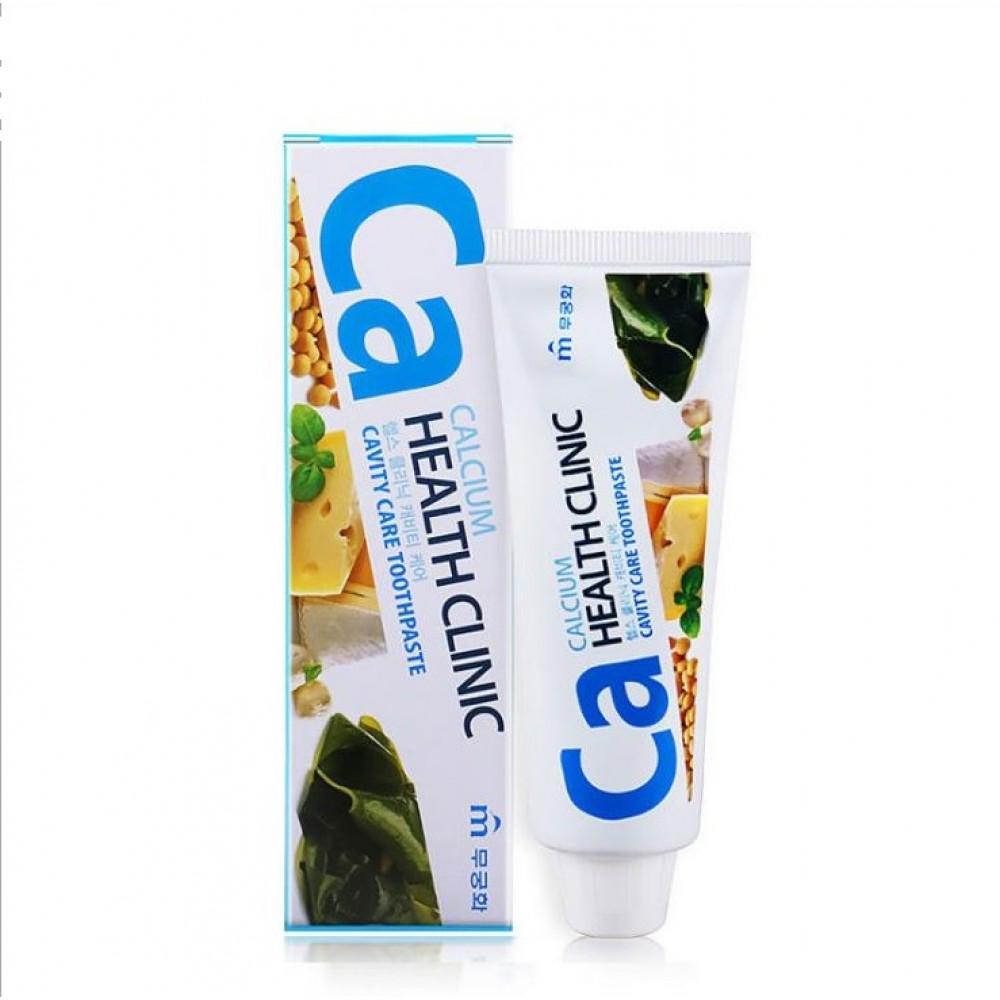 Mukunghwa Calcium Health Clinic Зубная паста с кальцием для профилактики кариеса