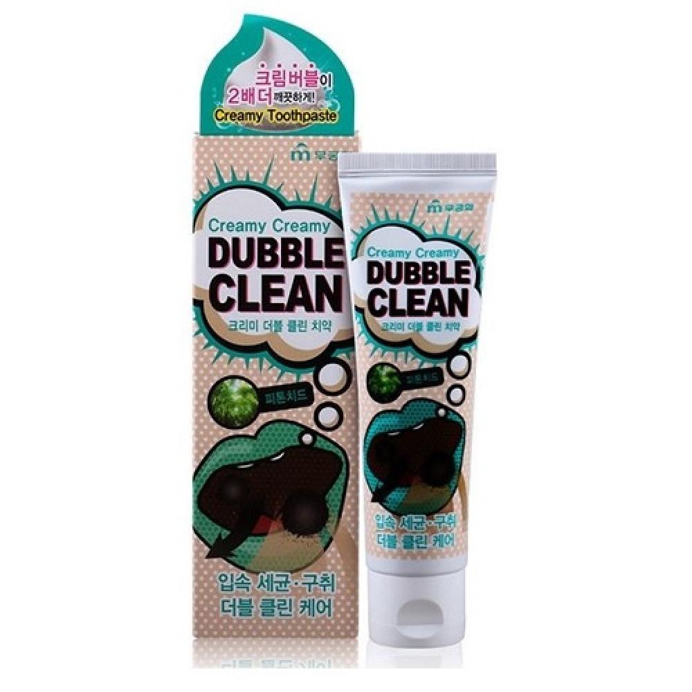 Mukunghwa Creamy Creamy Duble Clean Зубная паста кремовая с очищающими пузырьками и фитонцидами