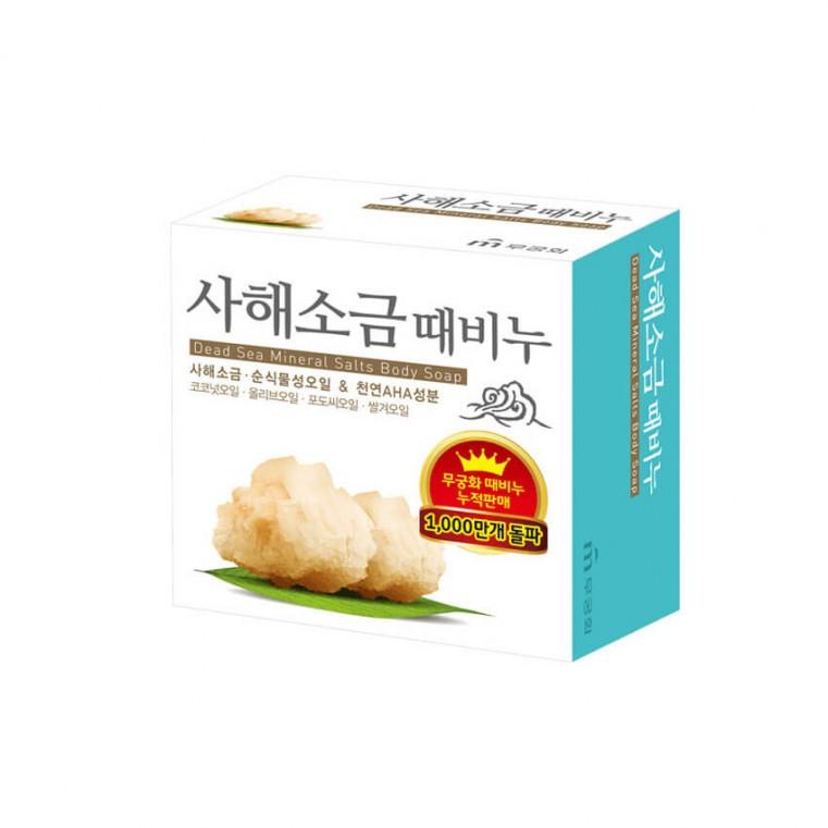 Mukunghwa Dead Sea Mineral Salts Body Soap Косметическое мыло для тела с минералами мёртвого моря