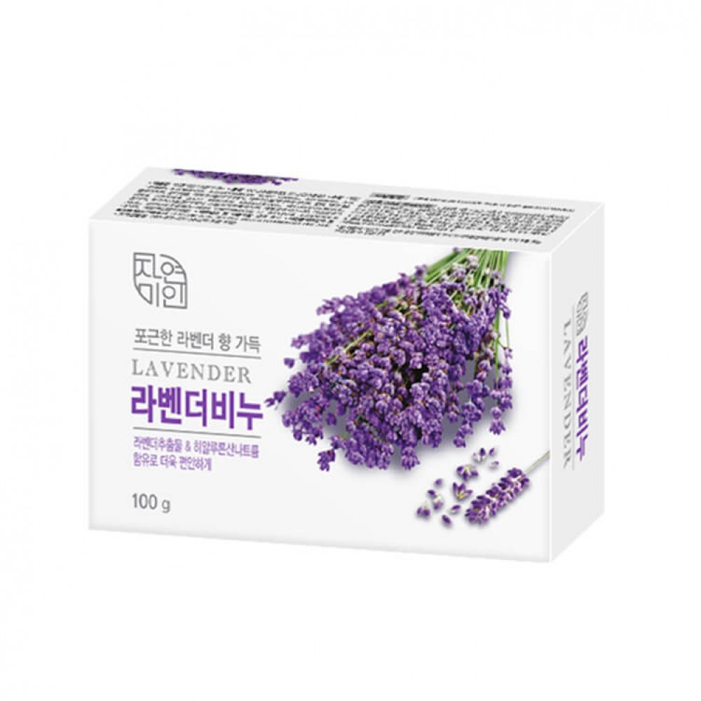 Mukunghwa Lavender Beauty Soap Увлажняющее мыло с лавандой