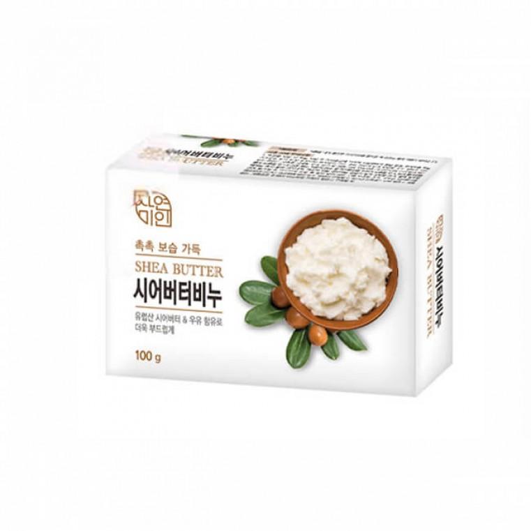 Mukunghwa Shea Butter Beauty Soap Питательное мыло с маслом ши