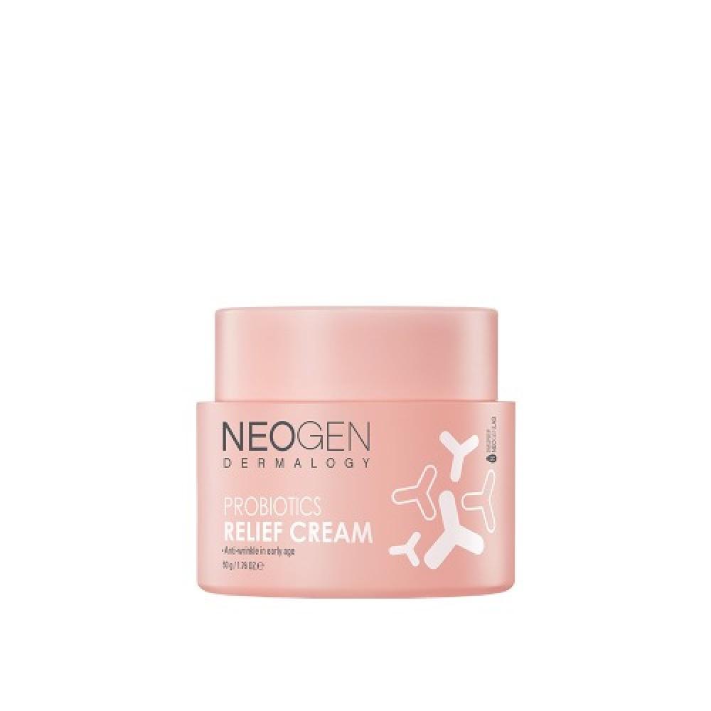 Neogen Dermalogy Probiotics Relief Cream Восстанавливающий крем с пробиотиками и церамидами