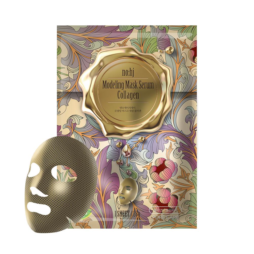 NO:HJ Golden Collagen Stamping Mask Маска тканевая с золотом и коллагеном