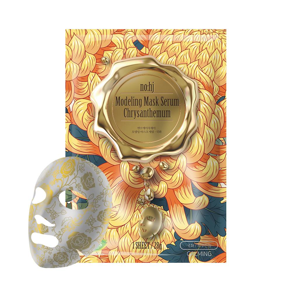 NO:HJ Modeling Mask Serum Chrysanthemum Маска фольгированная с экстрактом хризантемы