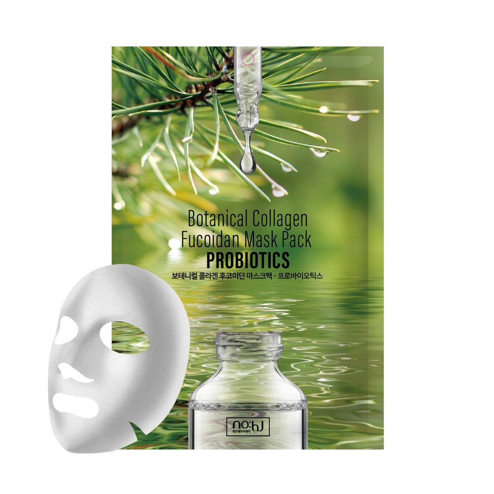 NO:HJ Botanical Collagen Fucoidan Mask Pack PROBIOTICS Балансирующая восстанавливающая маска с коллагеном и пробиотиками