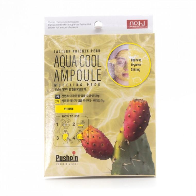 No:hJ Eastern Prickly Pear Aqua Cool Ampoule Modeling Pack Vitamin Альгинатная маска с экстрактом кактуса и витаминами
