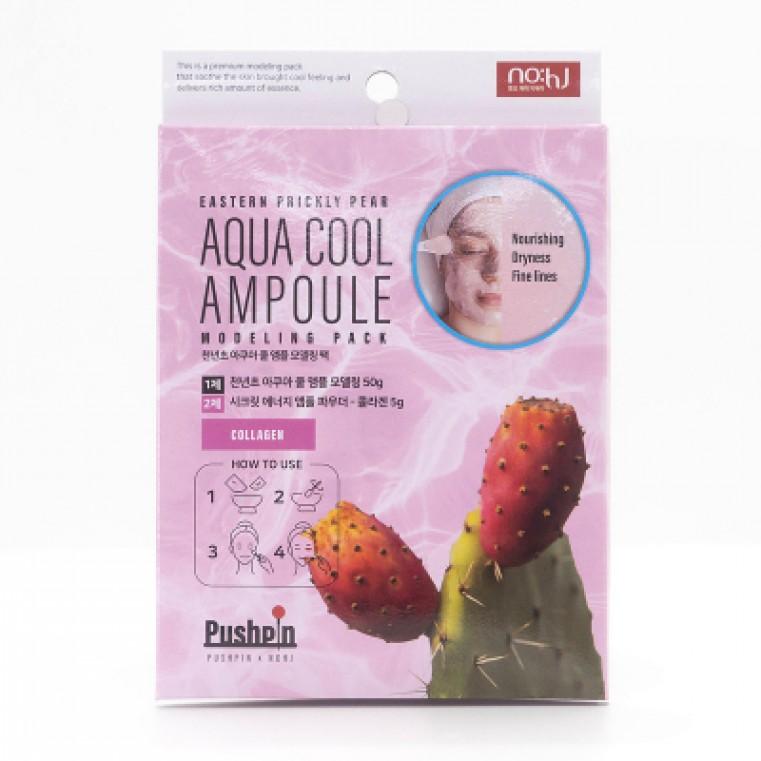 NO:hJ Eastern Prickly Pear Aqua Cool Ampoule Modeling Pack Collagen Альгинатная маска с экстрактом кактуса и коллагеном