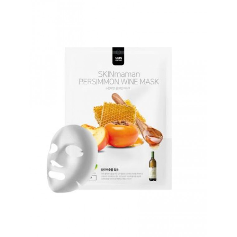 No:Hj Skin Maman Persimmon Wine Mask Омолаживающая и увлажняющая маска с экстрактом хурмы и вином