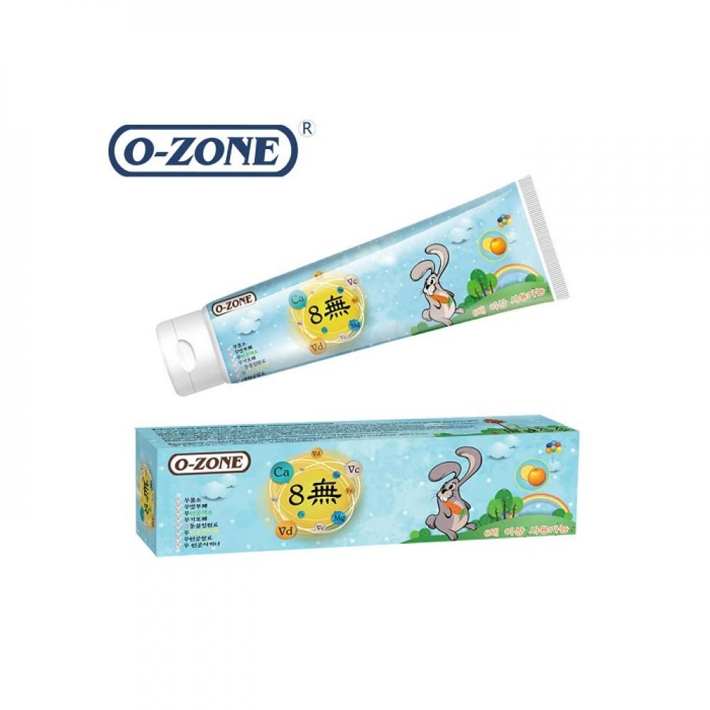 O-Zone Kid Care Toothpaste Orange Детская зубная паста апельсин от 6 лет