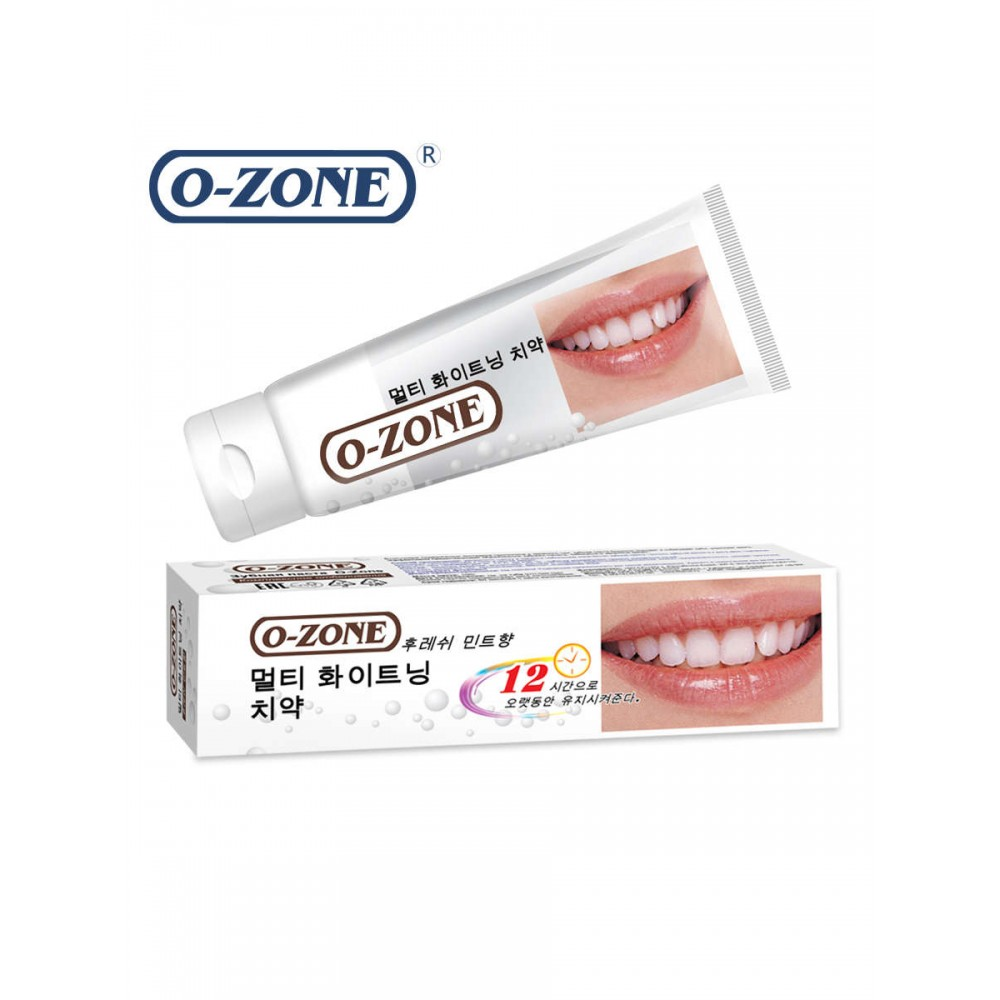 O-ZONE Whole Effect Whitening Toothpaste Зубная паста Комплексное отбеливание