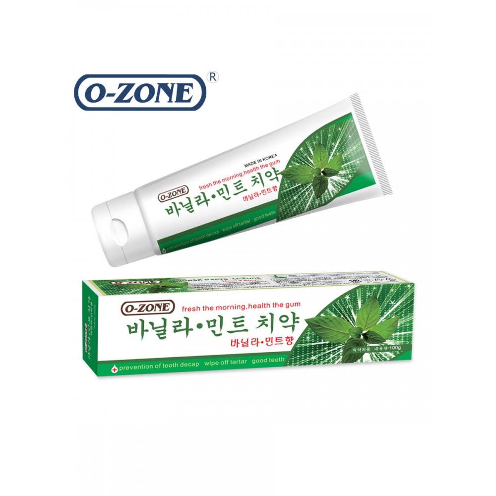O-Zone Vanilla Mint Toothpaste Зубная паста мята и ваниль