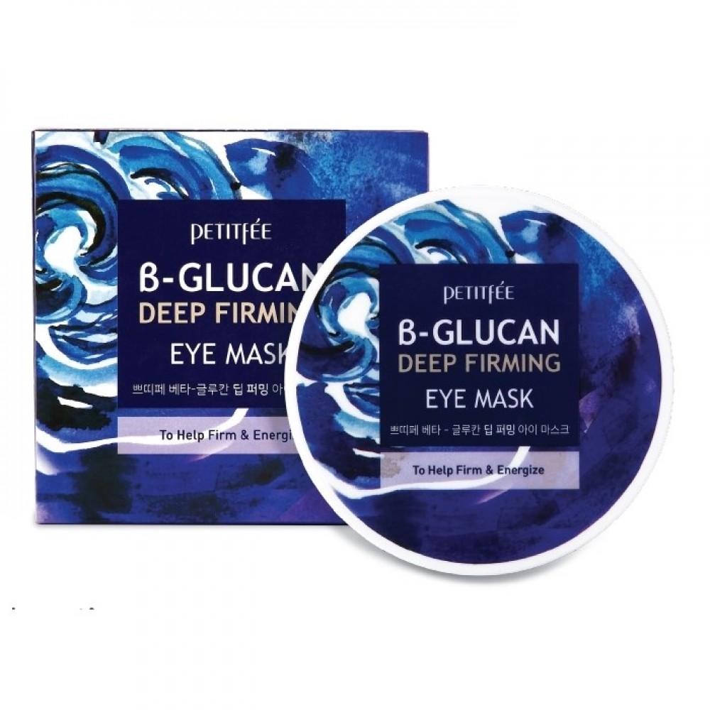 Petitfee B-Glucan Deep Firming Eye Mask Патчи для глаз с бета-глюканом супер укрепляющие