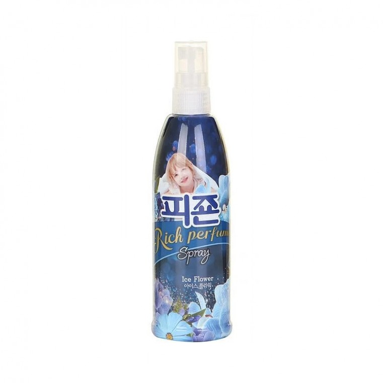 Pigeon Rich Perfume Spray Ice Flower Парфюмированный спрей-кондиционер ароматы фруктов, фрезии, 80мл.