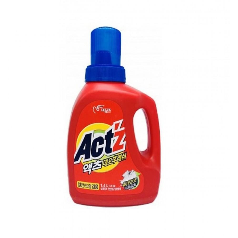 PIGEON ACT'Z Deo Fresh For Indoor Dryness Гель для стирки концентрированный для сушки белья в помещении