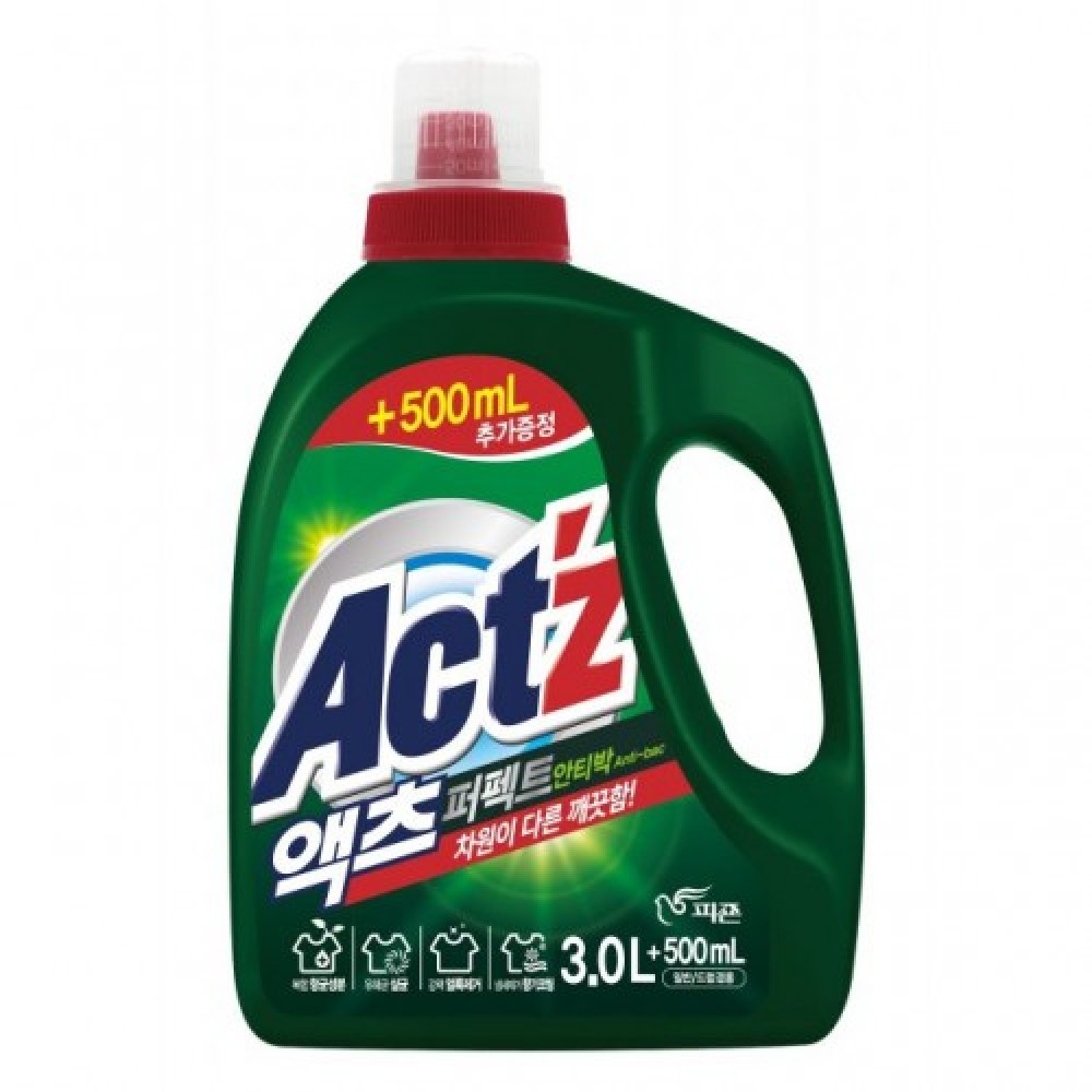 Pigeon ACT'Z Perfect Anti bacteria (bacterium) Гель для стирки белья Антибактериальный 3.2л