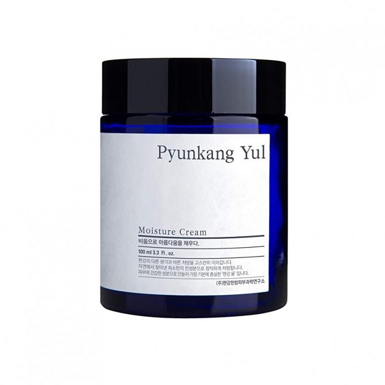 Pyunkang Yul Moisture Cream Увлажняющий крем для лица с экстрактом коптиса японского