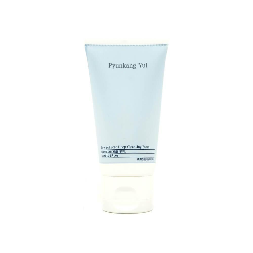 PYUNKANG YUL Low pH Pore Deep Cleansing Foam Низкокислотная пенка для умывания, 40мл