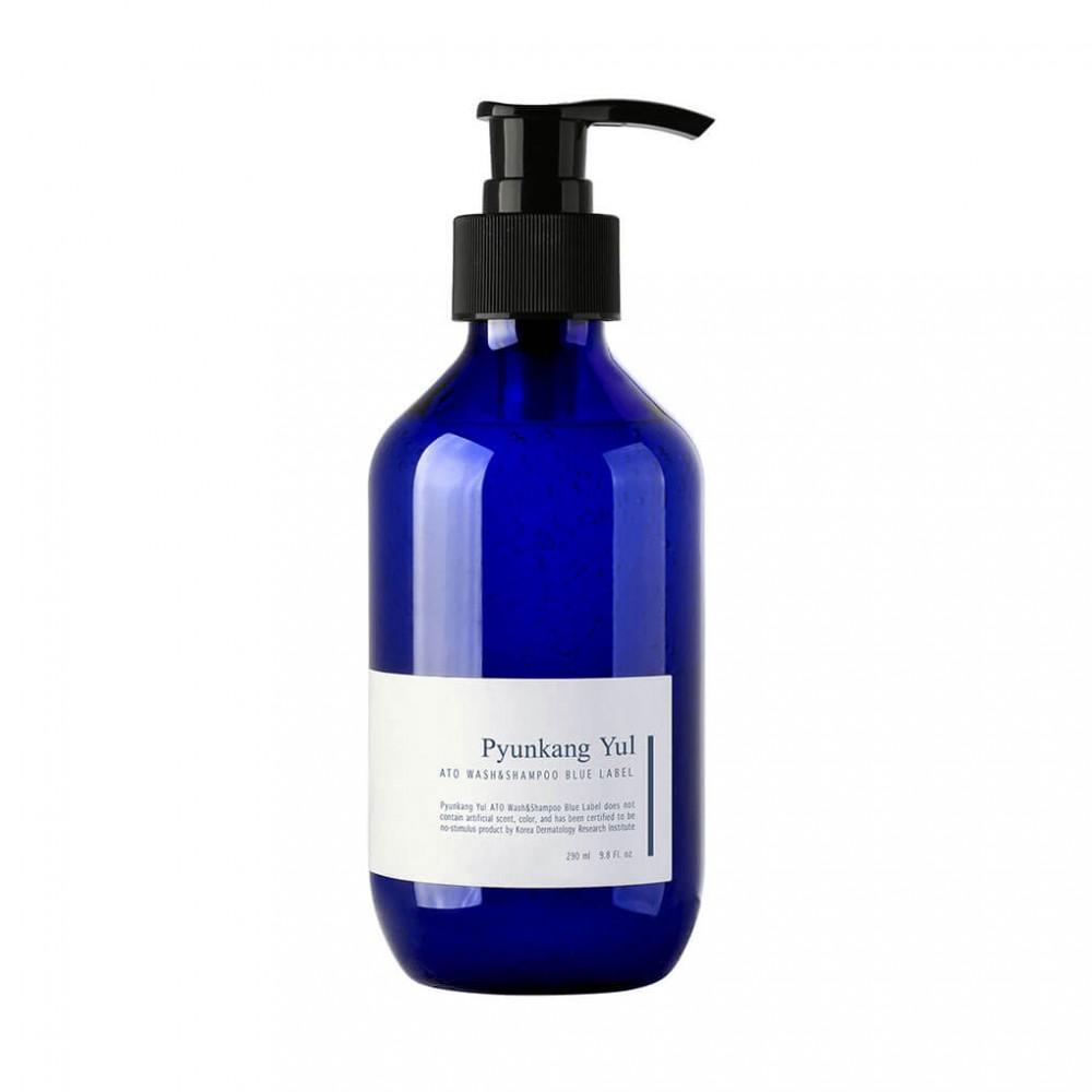 Pyunkang Yul ATO Wash & Shampoo Blue Label Шампунь и гель для душа 2-в-1 для чувствительной кожи