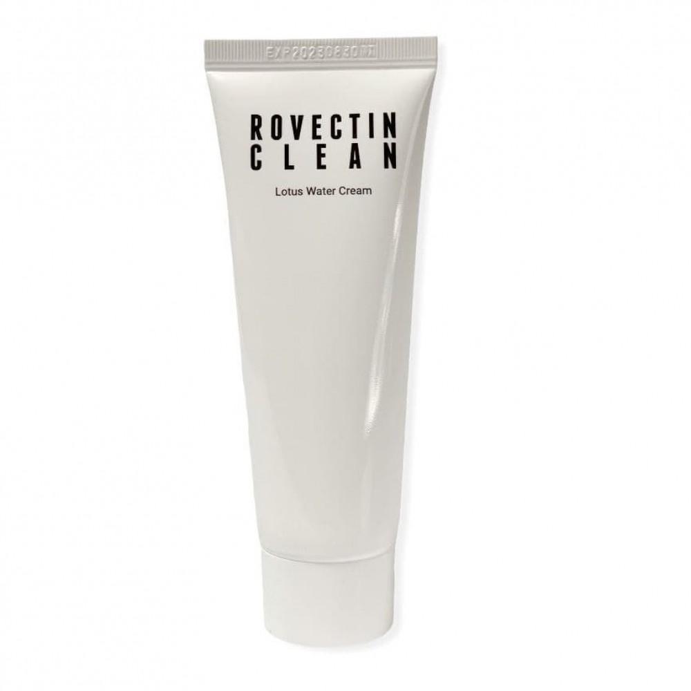 ROVECTIN Clean Lotus Water Cream Крем с экстрактом лотоса