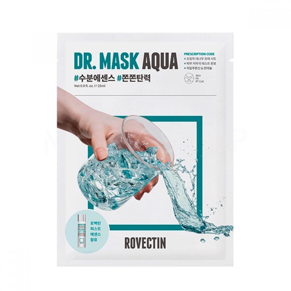 Rovectin Skin Essentials Dr. Mask Aqua Интенсивно увлажняющая тканевая маска
