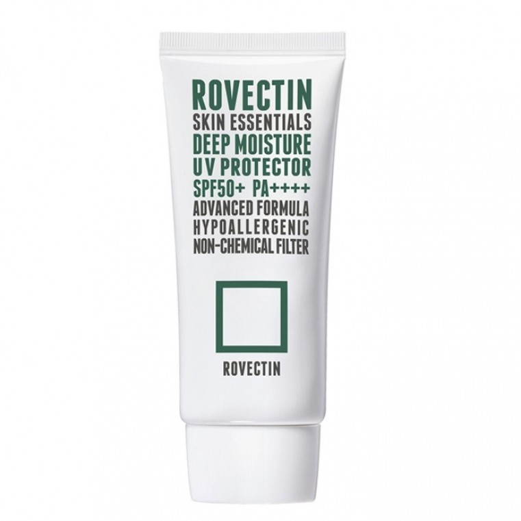 ROVECTIN Skin Essentials Deep Moisture UV Protector Увлажняющий санскрин на физических фильтрах SPF50+ PA++++