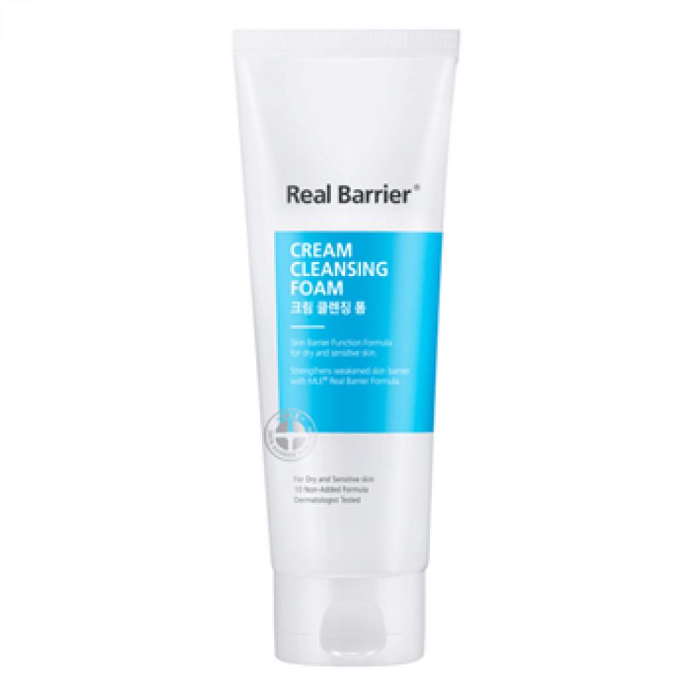 Real Barrier Cream Cleansing Foam Кремовая пенка с нейтральным pH