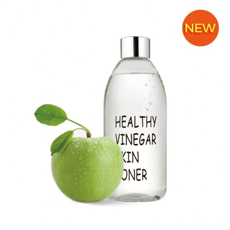 REALSKIN Healthy Vinegar Skin Toner Apple Уксусный тонер на основе ферментированного экстракта яблока