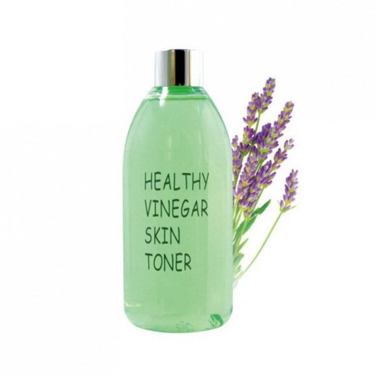 Real Skin Healthy Vinegar Skin Toner Lavender Уксусный тонер на основе ферментированного экстракта лаванды