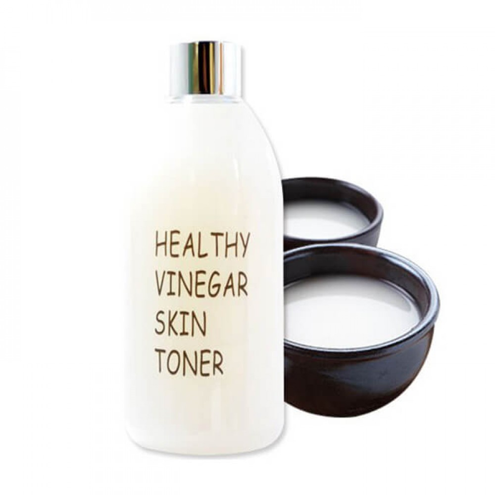 REAL SKIN Healthy Vinegar Skin Toner Raw Rice Wine Уксусный тонер на основе ферментированного экстракта рисового вина