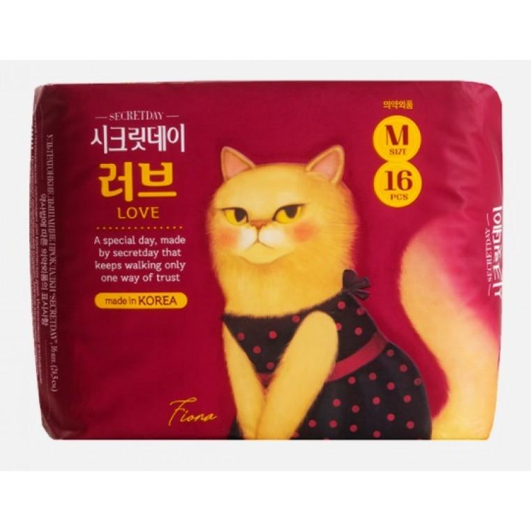 Secret Day Love Recipe Ultra Slim M Ежедневные ультратонкие дышащие прокладки