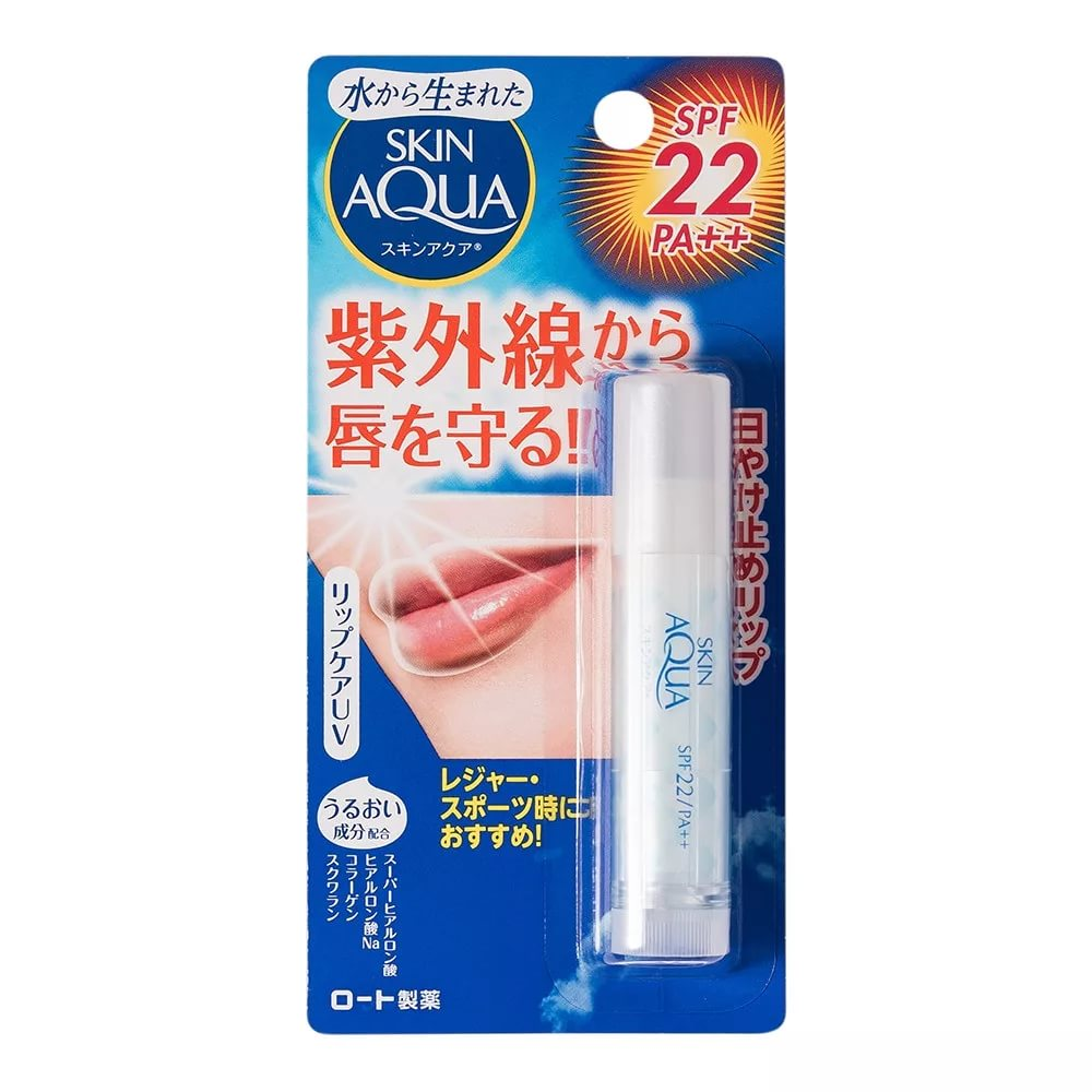 Skin Aqua Lip Care UV Бальзам для губ SPF22/PA++