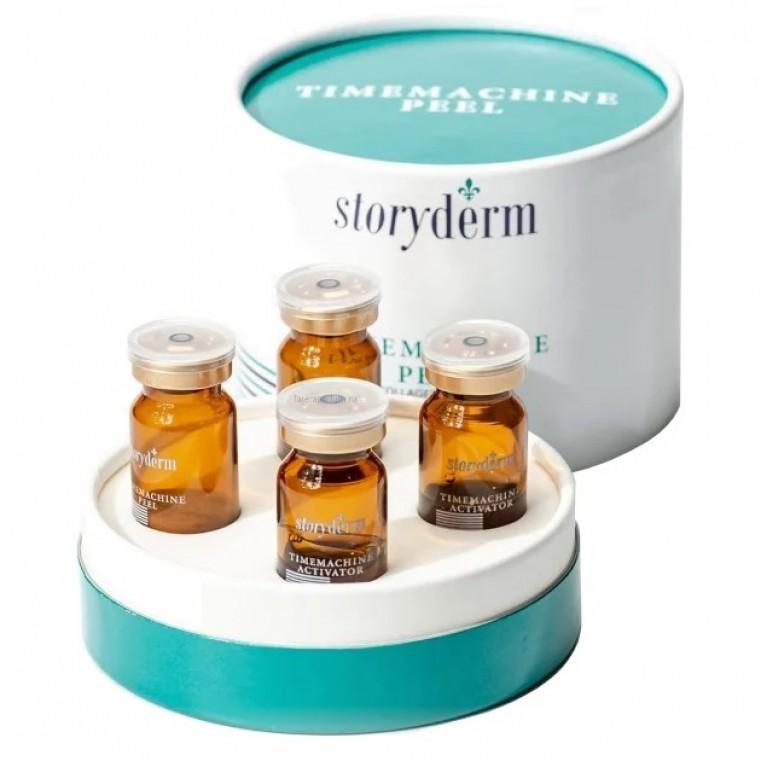 Storyderm Timemachine Peel Активный коллагеновый пилинг для лица с микроспикулами