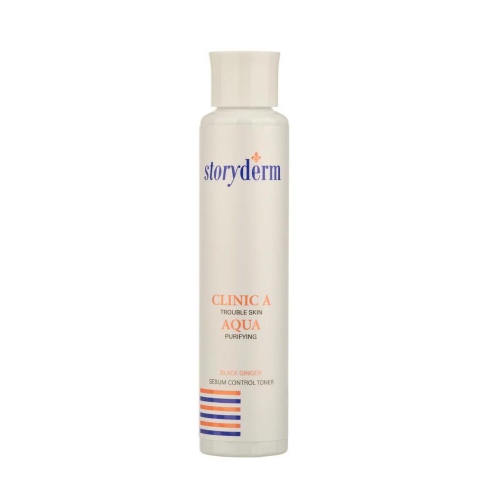 Storyderm Clinic A Aqua Тонер очищающий для проблемной кожи