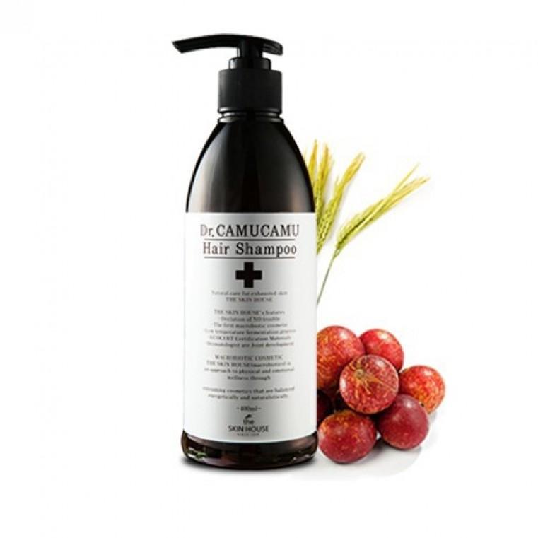 The Skin House Dr. CamuCamu Hair Shampoo Оздоравливающий шампунь против перхоти