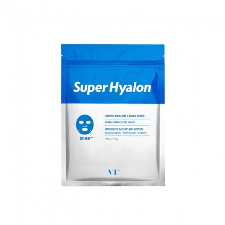 VT Super Hyalon 7 Days Mask Набор тканевых масок с 8 видами гиалуроновой кислоты