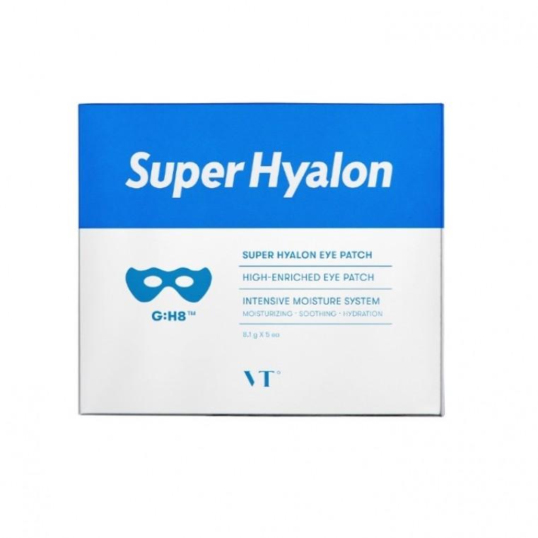 VT Cosmetics Super Hyalon Eye Patch Гиалуроновые гидрогелевые патчи для глаз