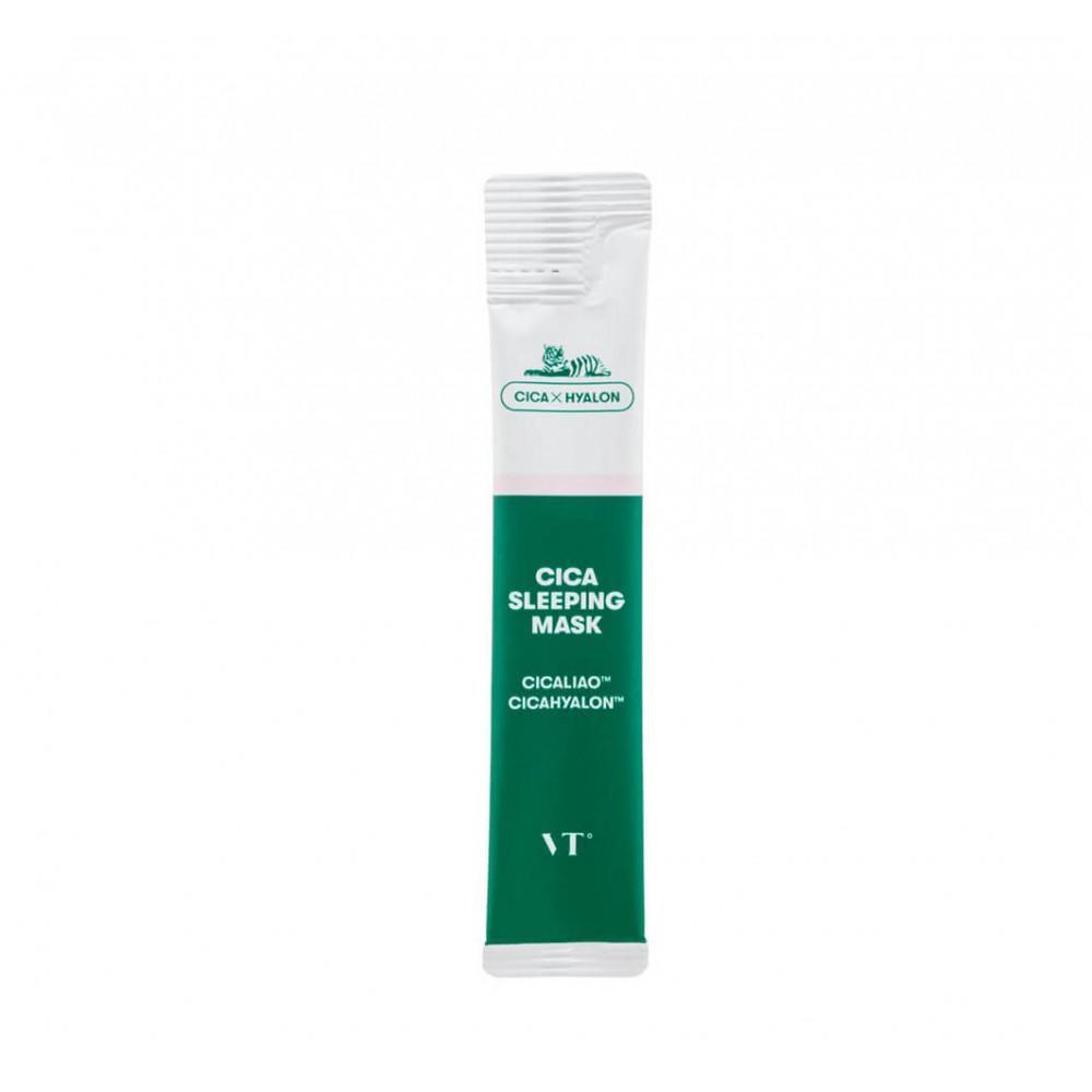 VT Cosmetics Cica Sleeping Mask Ночная маска для чувствительной и проблемной кожи, 1шт