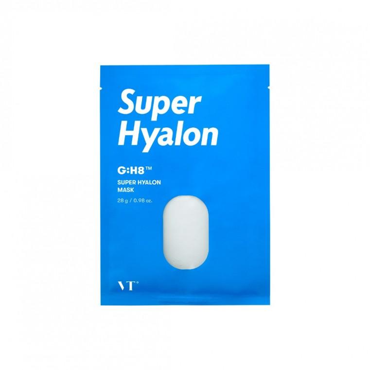 VT Cosmetics Super Hyalon Mask Увлажняющая тканевая маска с гиалуроновой кислотой