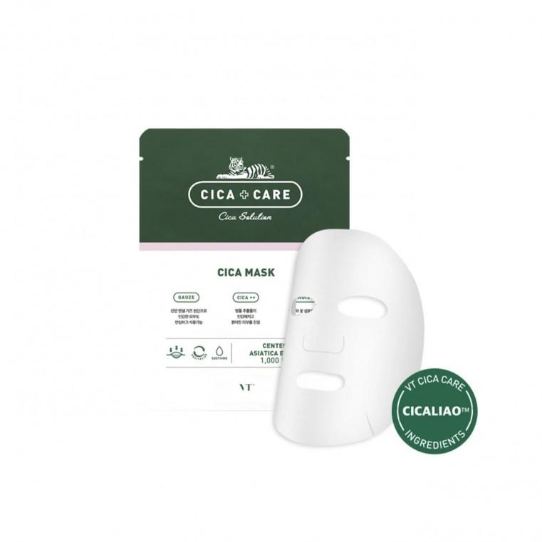 VT Cosmetics VT Cica Mask Pack  Успокаивающая маска с центеллой
