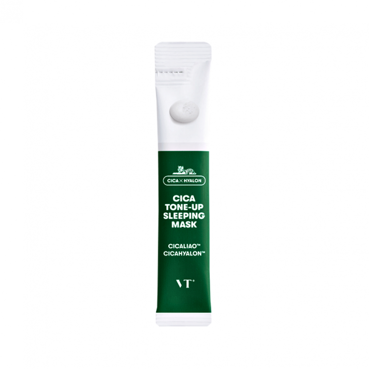 VT Cosmetics Cica Tone-Up Sleeping Mask Ночная маска для лица с эффектом сияния кожи