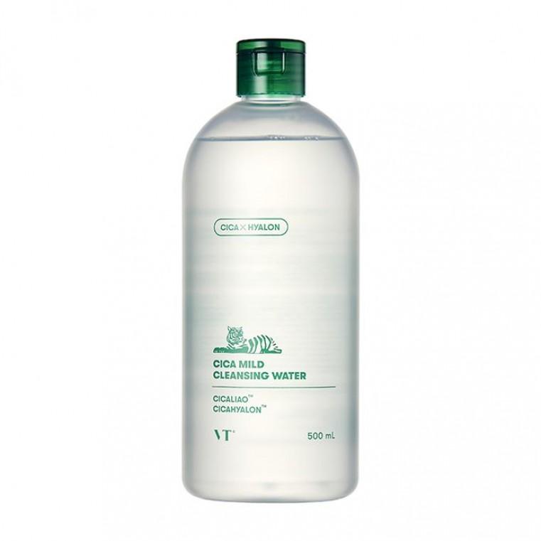 VT Cosmetics Cica Mild Cleansing Water Очищающая вода с CICA-комплексом