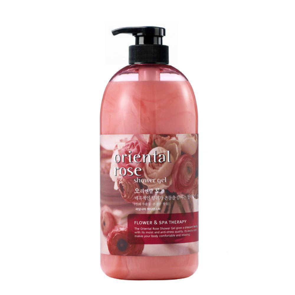 Welcos Body Phren Shower Gel Oriental Rose Гель для душа розовым экстрактом